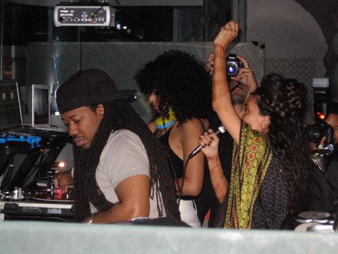 Ron Trent, DJ Rashida, and Sonia Hassan