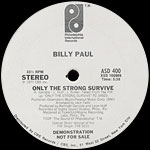 Only The Strong Survive label