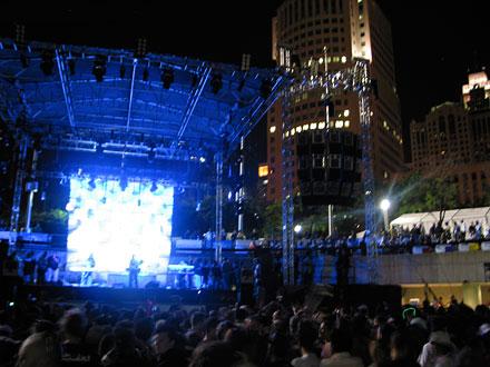 DEMF 2007 main stage