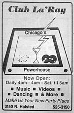 Club LaRay ad