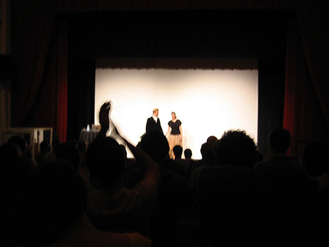Wolfgang Voigt and Petra Hollenbach
