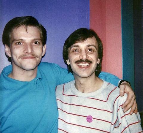 Daniel Goss and Lou DiVito in 1988