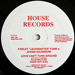 Love Can't Turn Around label
