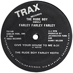 The Rude Boy Farley Keith: Give Your Self To Me