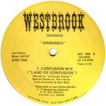 Armando: Land of Confusion label