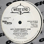 People's Choice: Hey Everybody (Party Hearty) label