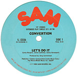 Convertion: Let's Do It label