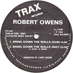 Robert Owens: Bring Down the Walls label