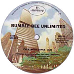 Bumblebee Unlimited: Everybody Dance label