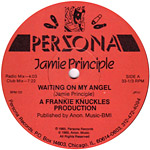 Jamie Principle: Waiting on My Angel label