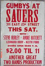 Sauer's flyer