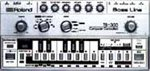 Roland TB-303 mini-keyboard
