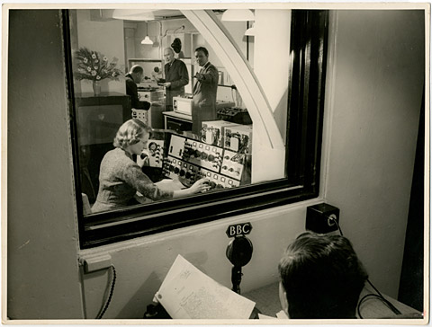 Daphne Oram at the BBC