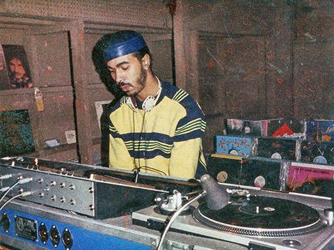 Ron Hardy DJing at the Muzic Box, Chicago