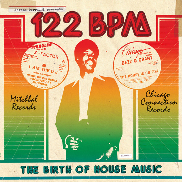 122 BPM The Birth of House Music cover