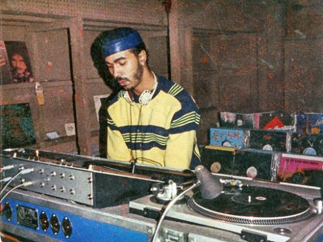 Ron Hardy DJing at the Muzic Box